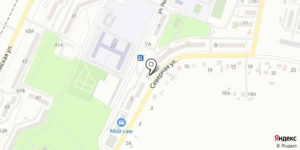 Эльфа. Схема проезда в Жигулёвске