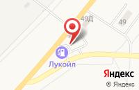 Схема проезда до компании АЗС Лукойл в Васильевке
