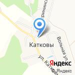 Буревестник на карте Кирова