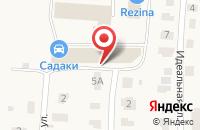 Схема проезда до компании Фаворит в посёлке Садаковский