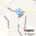 Садаки на карте Кирова