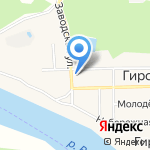 Алый парус на карте Кирова