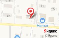 Схема проезда до компании Продукты в посёлке Садаковский