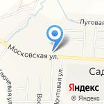 Бахтинское на карте Кирова