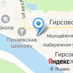 Бис на карте Кирова