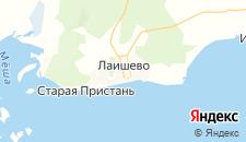 Гостиницы города Лаишево на карте