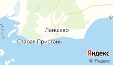 Отели города Лаишево на карте