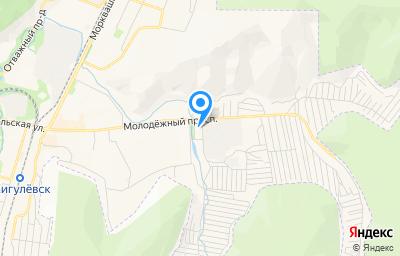 Местоположение на карте пункта техосмотра по адресу Самарская обл, г Жигулевск, ул Радиозаводская
