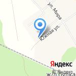 Средняя общеобразовательная школа №55 на карте Кирова