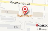 Схема проезда до компании Ретро в посёлке Садаковский
