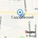 Эвента на карте Кирова
