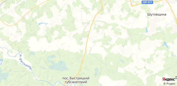 Исуповская на карте