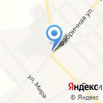 Фарес на карте Кирова
