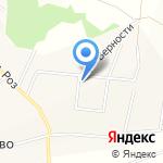 Липовая банька на дровах на карте Кирова