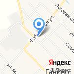 Нафаня на карте Кирова