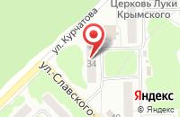 Схема проезда до компании Антей в Димитровграде