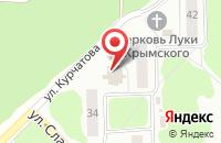 Схема проезда до компании Медиа-Лайн в Димитровграде