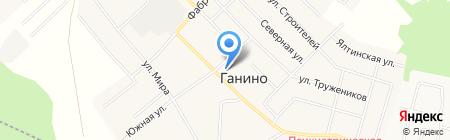 Сонг на карте Ганино