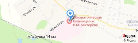 Банкомат Волго-Вятский банк Сбербанка России на карте Ганино