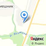 Джи-ЭН на карте Кирова