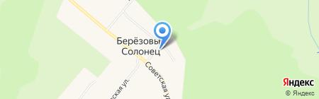 Фельдшерско-акушерский пункт на карте Березового Солонца