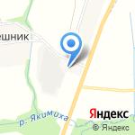 Отчий дом на карте Кирова
