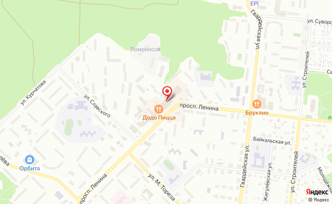 Карта расположения пункта доставки Халва в городе Димитровград