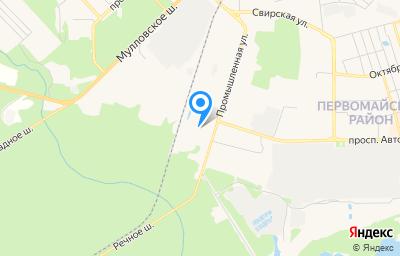 Местоположение на карте пункта техосмотра по адресу Ульяновская обл, г Димитровград, ул Промышленная, д 26