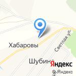 Хабаровы на карте Кирова