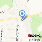 Панэко на карте Кирова