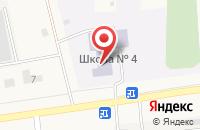 Схема проезда до компании Средняя общеобразовательная школа №4 в посёлке Садаковский