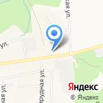 Средняя общеобразовательная школа №4 на карте Кирова