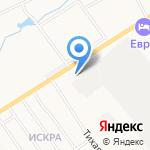 Uz-Daewoo на карте Кирова