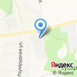 Фанком на карте Кирова