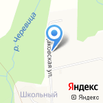 Алисёнок на карте Кирова