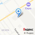 Броневой на карте Кирова