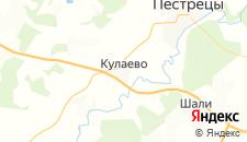 Гостиницы города Кулаево на карте