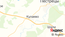 Отели города Кулаево на карте