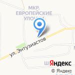Багратион на карте Кирова