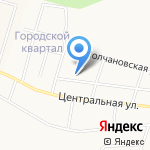 Слобода Никольская на карте Кирова