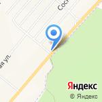 АЗС Терминал на карте Рассвета