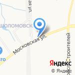 Киоск по продаже живой наживки на карте Кирова