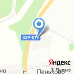 Газпром трансгаз Нижний Новгород на карте Кирова