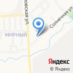 Зебряшки на карте Кирова