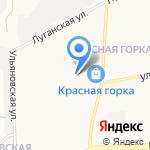 Крендельсон на карте Кирова
