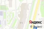 Схема проезда до компании ТехноКиров в Кирове
