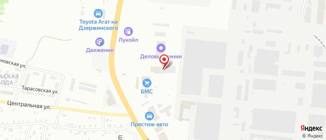 Карта расположения пункта доставки DPD Pickup в городе Киров
