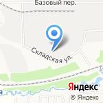 Лесторг на карте Кирова