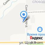 Русский купец на карте Кирова