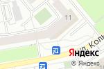 Схема проезда до компании Управляющая компания Октябрьского района г. Кирова в Кирове